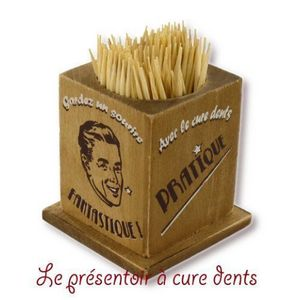 DECO D'AMBIANCE - boiite cure dent - Cure Dent