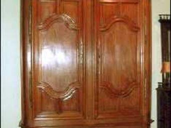 ANTIQUITÉS 95 - armoire bordelaise - Armoire À Portes Battantes