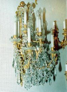 Berman Freres - paires d'appliques de style louis xvi - Applique