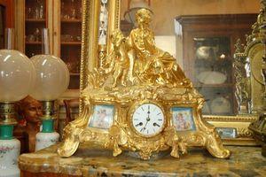 Antiquites Decoration Maurin -  - Pendule Cartel