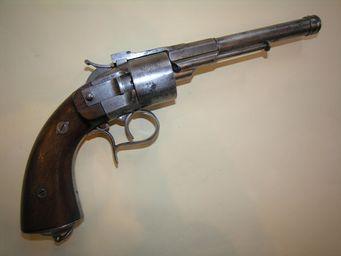 Aux Armes d'Antan - revolver gauthier jeune - Pistolet Et Révolver