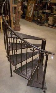 Le fer forgé -  - Escalier Hélicoïdal