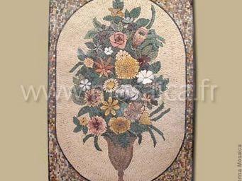 Sienna Mosaica - composition florale - Mosaïque