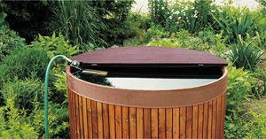 Ideanature - recuperateur eau de pluie 420 - Récupérateur D'eau