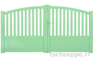 TSCHOEPPE - zenox premium contraste - Portail De Jardin