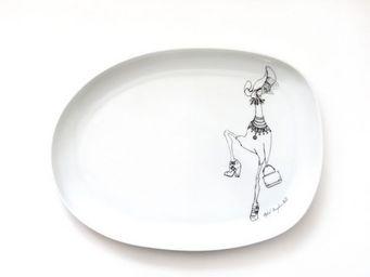 EL AJUAR DE MARIA - j�venes ilustrados - Assiette Plate