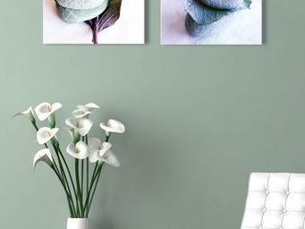 ARTMOSPHERE - toiles diptyque 30x30cm - Nature Morte