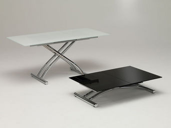 Protis - upop verre - Table Basse Avec Rallonge