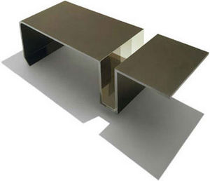 DESU Design - slot table - Table Basse Rectangulaire