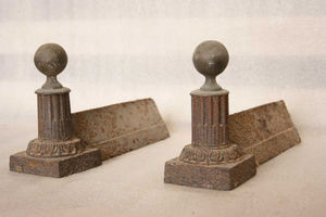 Materiaux Anciens Labrouche Fils -  - Chenets