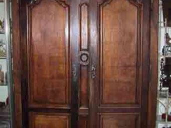 Abacadabra Antiquités - armoire - Armoire À Portes Battantes