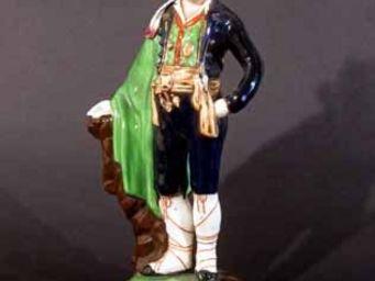 EARLE D VANDEKAR OF KNIGHTSBRIDGE - a chamberlain worcester figure - Statuette