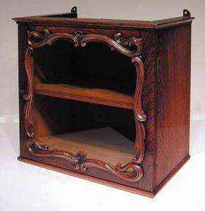 BAGGOTT CHURCH STREET - rosewood display cabinet - Vitrine Basse