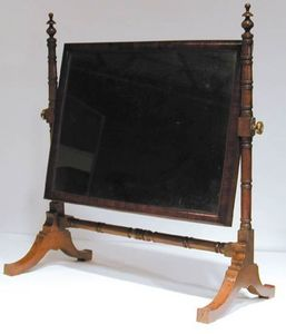 BAGGOTT CHURCH STREET - mahogany dressing mirror - Barbière