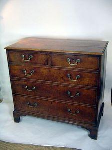 Brookes-Smith - oak chest of drawers - Commode