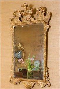 CHAPPELL & MCCULLAR - george ii carved giltwood mirror - Miroir