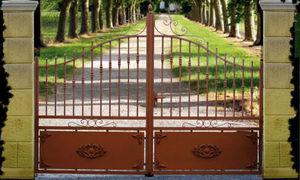 Cadiou - guimaec - Portail De Jardin
