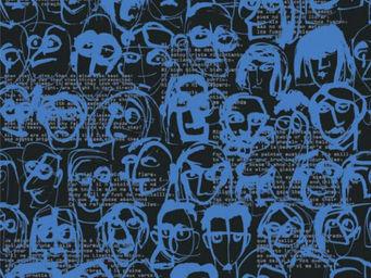 Equipo DRT - divertimento_les amis azul - Papier Peint