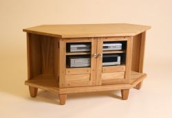 Andrena Reproductions - ct536 corner video cabinet - Meuble Tv Hi Fi