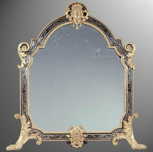 KRAEMER - miroir de table en marqueterie boulle - Miroir � Poser