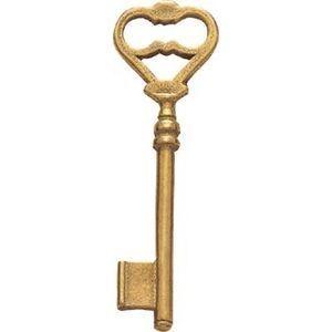 FERRURES ET PATINES - clef en laiton style louis xiv pour serrure 372tl - Clé De Meuble