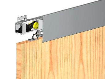 Wimove - bandeau aluminium brut - longueur 1,8 m pour herku - Motorisation Pour Porte D'intérieur