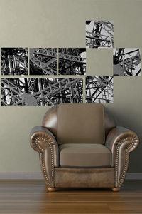 DECLIK - structure - Papier Peint Adh�sif Repositionnable