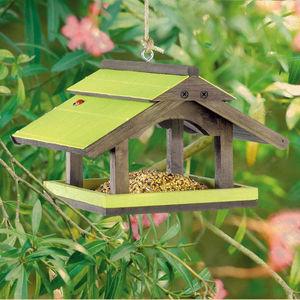 ZOLUX - mangeoire à suspendre garden seasons en sapin et b - Maison D'oiseau