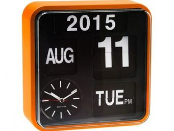 Karlsson Clocks - karlsson - horloge murale mini flip - karlsson - - R�veil Matin