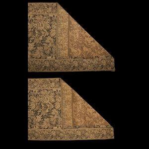 Expertissim - paire de portières. tapisseries. - Rideau De Porte