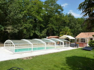 Abri-Integral - panorama - Abri De Piscine Bas Coulissant Ou T�lescopique