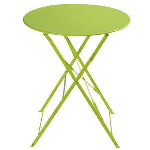 Maisons du monde - table anis confetti - Table De Jardin Ronde