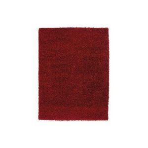 LUSOTUFO - tapis design lumy bordeaux - Tapis Shaggy