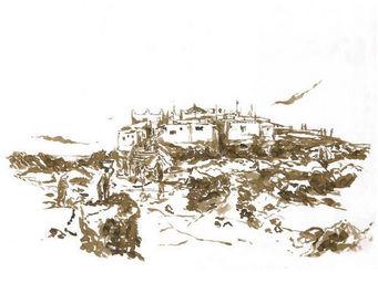IN CREATION - carnet de voyages - ile - Panneau D�coratif