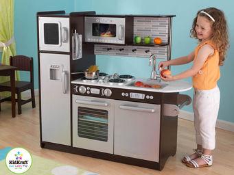 KidKraft - cuisine pour enfant expresso en bois 10x45x104cm - Jeu D'�veil