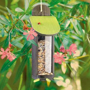 ZOLUX - distributeur de graines garden seasons en bois 11x - Maison D'oiseau