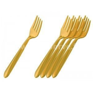 Adiserve - fourchette starck par 50, 6 coloris couleurs argen - Couverts Jetables
