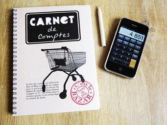 DANS TETE - carnet de comptes - Carnet De Notes