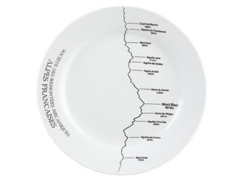 Athezza Home - ass. plate altitude d27cm - Assiette Plate
