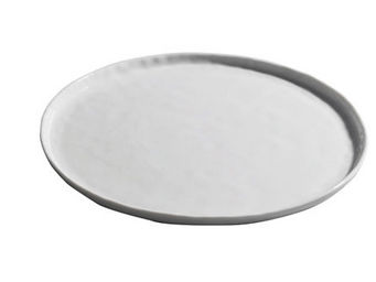 Athezza Home - ass. plate porcelaine crumple d27,5cm - Assiette Plate