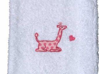 SIRETEX - SENSEI - gant de toilette enfant 16x22cm brodé 500gr/m² gir - Gant De Toilette