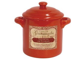Orval Creations - bougie cocotte parfum�e velout� safran - Bougie Parfum�e