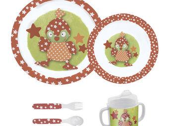 Orval Creations - coffret repas piou-piou - Assiette Enfant