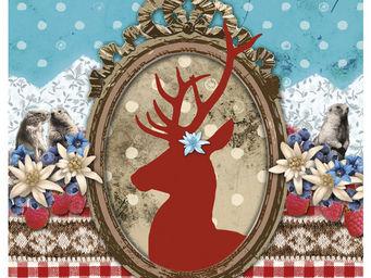 Orval Creations - dessous-de-plat jardin d'hiver - Dessous De Plat