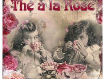 Orval Creations - dessous-de-plat th� � la rose - Dessous De Plat
