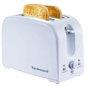 TECHWOOD - grille pain blanc - Toaster