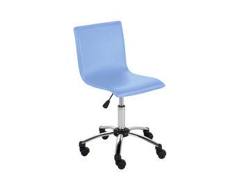 ACHATDESIGN - chaise de bureau azo bleu - Chaise De Bureau