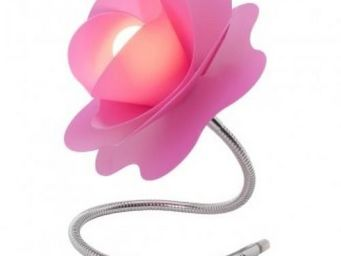 Up Trade - lampe rosalie rose - Lampe De Chevet