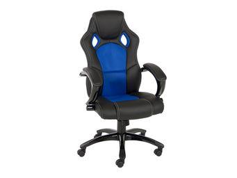 ACHATDESIGN - chaise de bureau speedy bleu - Chaise De Bureau
