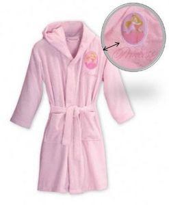 Princess - peignoir princess rose 2/4ans - coeur - Peignoir Enfant